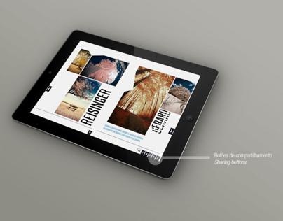 Editorial Design | Empty - iPad Magazine