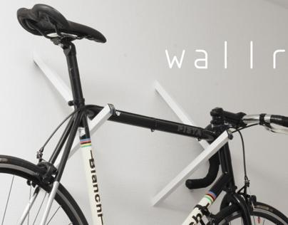 WALLR - bike display