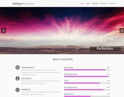 Oblique Web Design