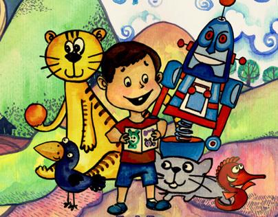 Illustration Book For Children