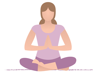 Yoga Illustrations & Infographics