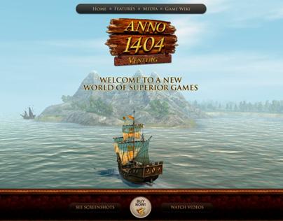 Anno 1404 Venice interactive presentation