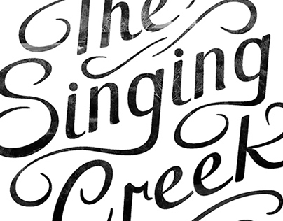 The Singing Creek branding