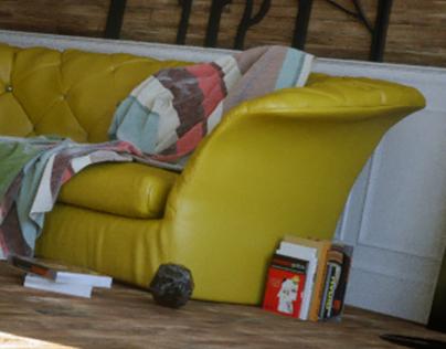 The Urban Yellow Loft