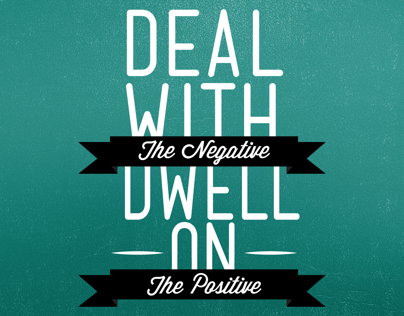 Deal With the Negative Wallpaper