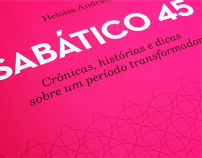 """Projeto gráfico """"Sabático 45"""""""