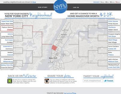 NYFU web design