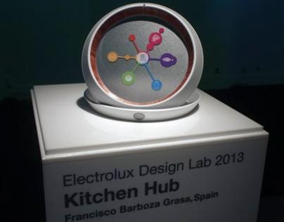 Kitchen Hub. Electrolux Design Lab Final 2013.