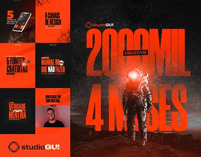 Mídia Social - StudioGUI - Design Gráfico