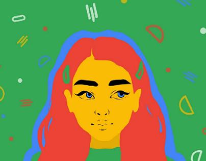 Women's Day Illustration Series Poster