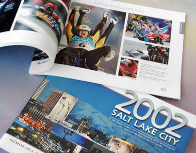 2002 Winter Olympic Games book