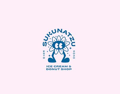 Sukunatzu ice cream & donut shop