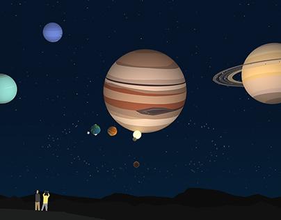 Walk Amongst The Solar System