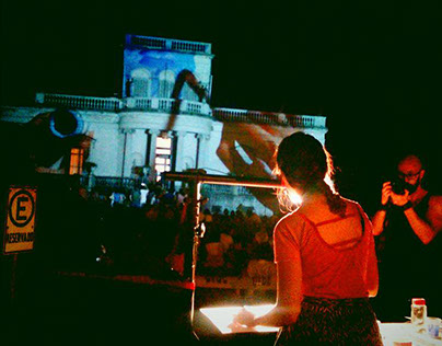 Live painting mapping