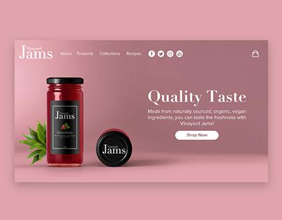 Vineyard Jams Branding Project