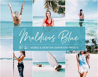 Maldives Blue - Mobile & Desktop Lightroom Presets