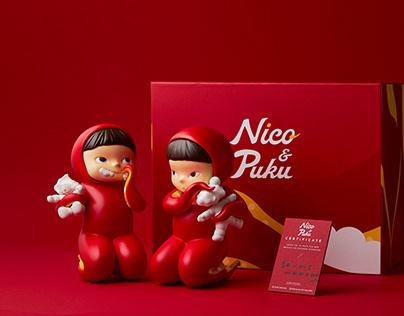 Nico & Puku|包裝設計