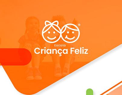 Escola Criança Feliz - Identidade Visual + Branding