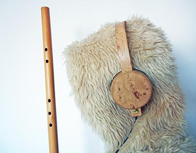 [Wood headphones 0.2/ 0.3/0.4/0.5]