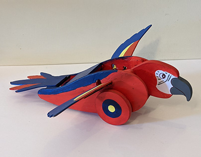 'Polly the Parrot' - Mechanical Toy Design