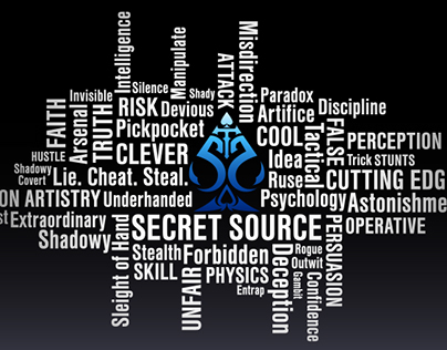 Secret Source Word Cloud