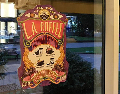 L.A.COFFEE POSTER