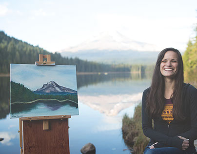 Oil Painting in the PNW