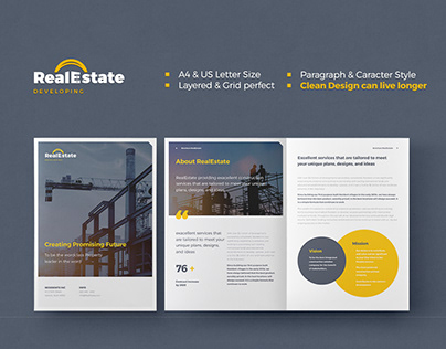 Real Estate / Construction Brochure
