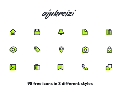 ajukreizi line icons