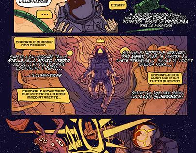 tre fumetti casuali