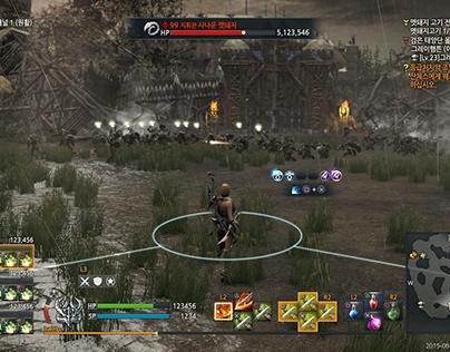 Kingdom Under Fire II UI work (Chinajoy PS4)