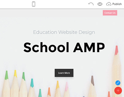 Mobirise v4.8.2 - Education Website Design!