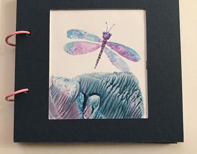 """Mini book """"Monotypes watercolor """""""