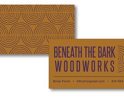 Beneath the Bark Woodworks Branding