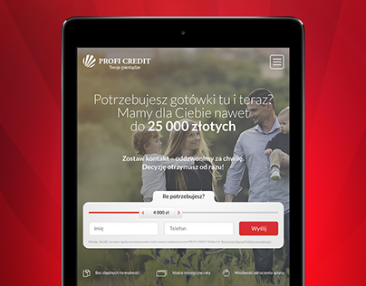 PROFI CREDIT - Web design & Development
