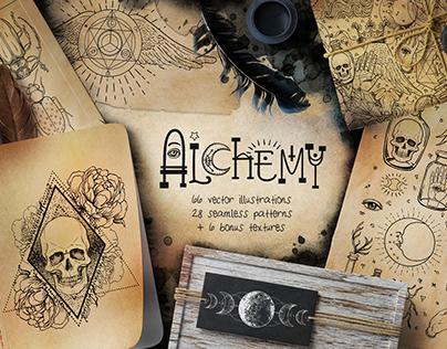 ALCHEMY: Magic Vector Set
