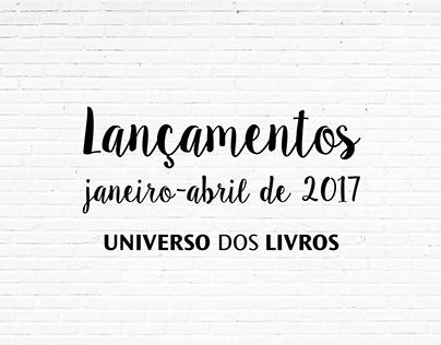 Universo dos Livros' Releases | PRESENTATION