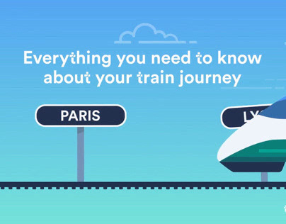 Data Driven Infographic Videos - Trainline