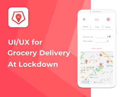 LOCART an app for delivering Groceries at Lock down