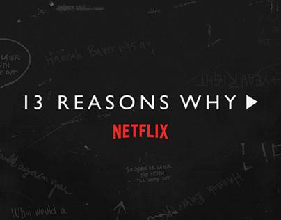 NETFLIX | 13 Reasons Why