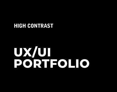 High Contrast - UX/UI Portfolio