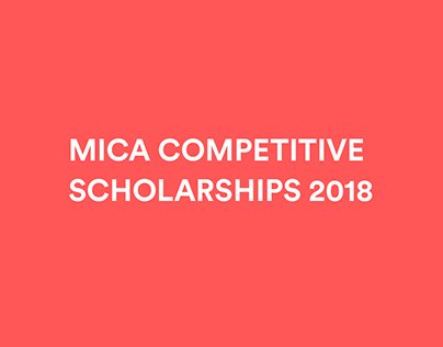MICA Competitive Scholarship 2018