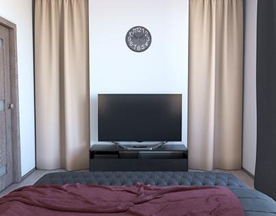 Comfort Bedroom and Roomy Wardrobe