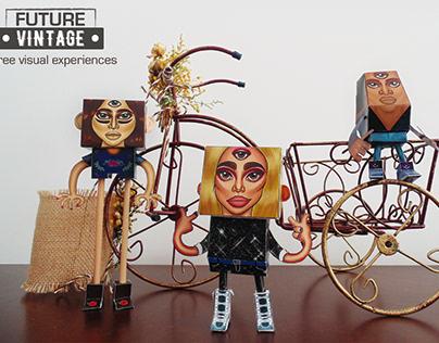 Future Vintage (Paper Toys)