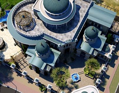 UAE privte villa_ © 2016 Design by Abbas Hasan