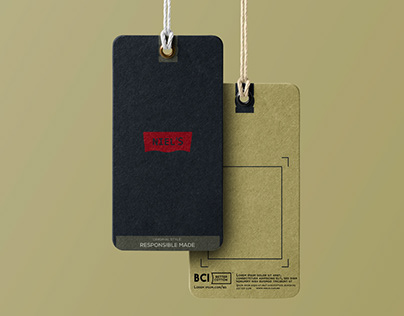 clothing label tag