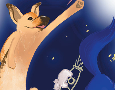 Postcard: Space Dogs