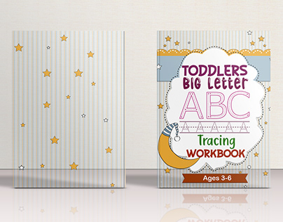 Toddlers big letter tracing book