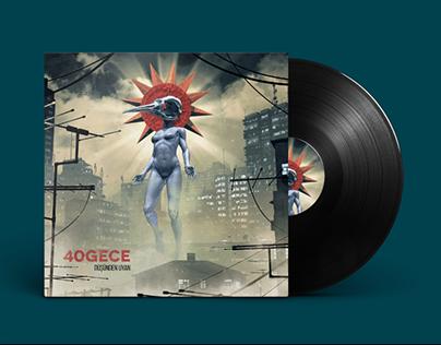 40 Gece // Cover Design