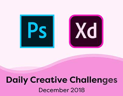 Adobe Daily Creative Challenges - Dec 2018